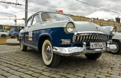 Russian retro car Volga Stock Photography