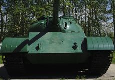 Russian retro tanks from second world war Stock Photo