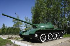 Russian retro tanks from second world war Stock Images