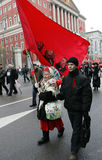 Russian revolution Stock Photography