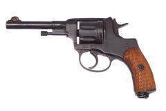 Russian Revolver Nagant Stock Photo