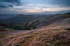 Russian Ridge at Sunset Royalty Free Stock Photo
