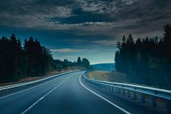 Russian roads stock images
