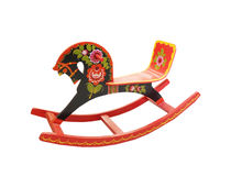 Russian rocking horse Stock Images