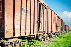 Russian rolling stock Royalty Free Stock Image