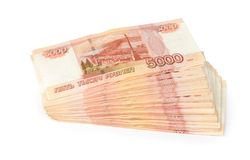 Russian roubles Stock Photography