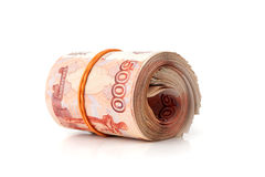 Russian roubles Royalty Free Stock Images