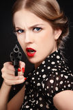 Russian roulette Stock Photography