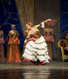 Russian royal ballet perfome swan ballet Royalty Free Stock Image