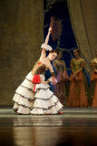 Russian royal ballet perfome swan ballet Stock Photos