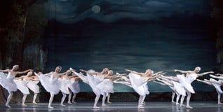 Russian royal ballet perform Swan Lake Royalty Free Stock Photos