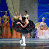 Russian royal ballet perform Swan Lake Stock Photos
