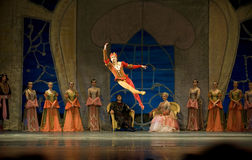 Russian royal ballet perform Swan Lake Royalty Free Stock Photography