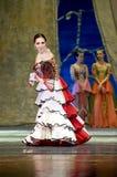 Russian royal ballet perform Swan Lake ballet Royalty Free Stock Photo