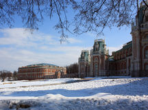Russian royal palace Stock Photography