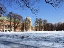 Russian royal palace Royalty Free Stock Photo
