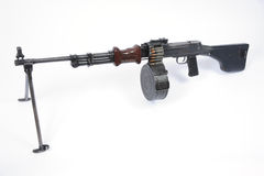 Russian RPD machine gun Stock Photos