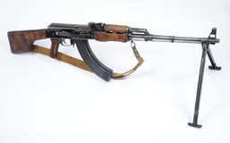 Russian RPK machine gun Stock Images