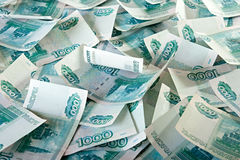 Russian Ruble. Royalty Free Stock Images
