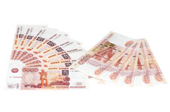 Russian Ruble Royalty Free Stock Images