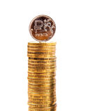 Russian Ruble Coin Royalty Free Stock Image