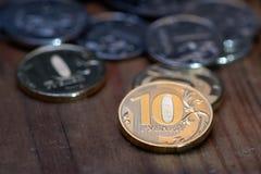 Russian ruble Stock Photos