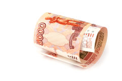 Russian rubles Royalty Free Stock Photo