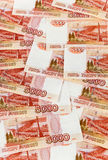Russian rubles banknotes Royalty Free Stock Images