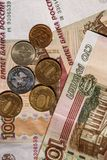 Russian rubles Royalty Free Stock Photos
