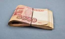 Russian rubles Royalty Free Stock Image