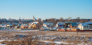 Russian rural landscape Stock Photography