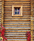 Russian rustic wooden house Royalty Free Stock Photo