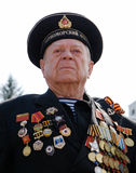 Russian sailor veteran of WWII Stock Photo