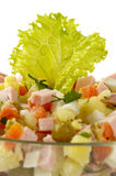 Russian salad Stock Photos