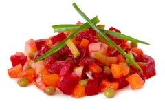 Russian salad Stock Photo