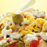 Russian salad Royalty Free Stock Images