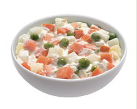 Russian salad Stock Photography
