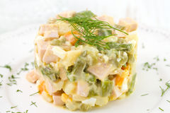 Russian salad Royalty Free Stock Photography