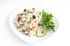 Free Russian Salad Olivie Royalty Free Stock Photography - 24534357