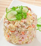 Russian salad - Olivier Stock Photography