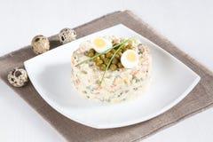 Russian Salad Olivier Stock Image