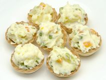 Russian salad Royalty Free Stock Photos
