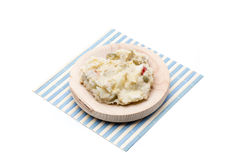Russian salad snack Stock Photo