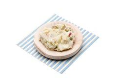 Russian salad snack Stock Photo