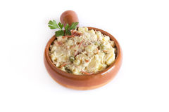Russian salad. Typical spain food Royalty Free Stock Image