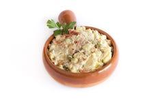 Russian salad Royalty Free Stock Image