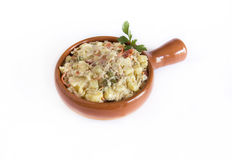 Russian salad Stock Image