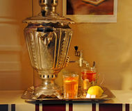 Russian samovar Stock Photography