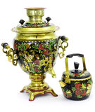 Russian samovar Royalty Free Stock Image