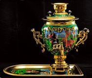 Russian Samovar stock photo